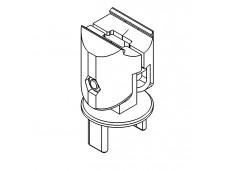 Aluminum 0°-180° angle connector NGP40/60 (204C180-206C180)