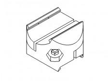 Aluminium cross connector NGP40/60 (204CX00-206CX00)