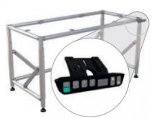 Height adjustable FL table electric (720 - 1020mm ; 300kg ; NGP40 ; 214FLS-HVSTE)