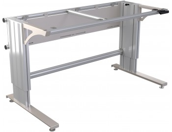 Manual height adjustable worktable (685-1085mm) (21M)
