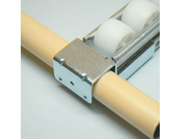 Roller track supports